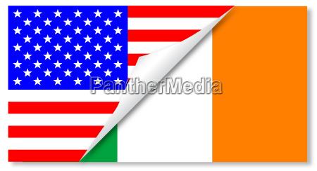 eeuu bandera irlanda republica estado libre