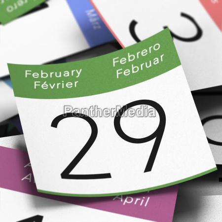 anyo bisiesto el 29 de febrero