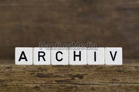 el archivo de palabras aleman escrito