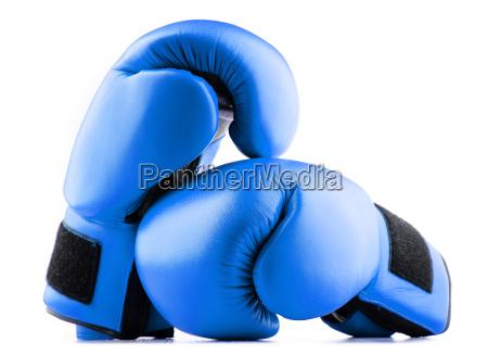 par de guantes de boxeo de