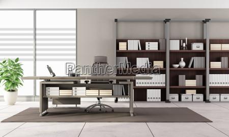 oficina escritorio muebles moderno espacio madera