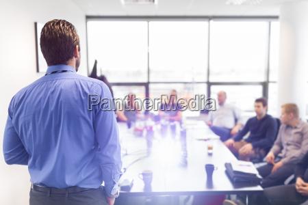 presentacion del negocio en la reunion