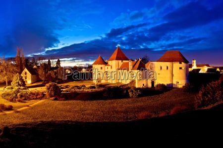 ciudad barroco croacia ciudadela