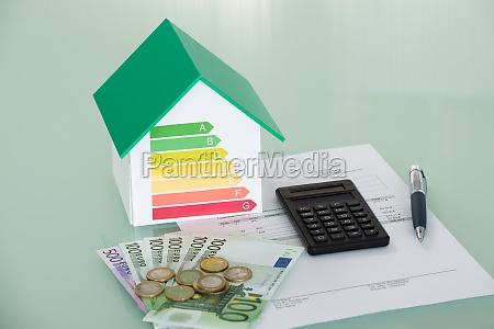 tasa de eficiencia energetica con factura