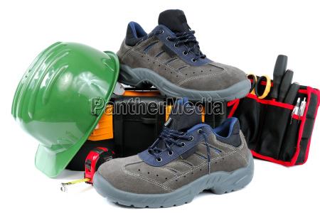 calzado de trabajo protector