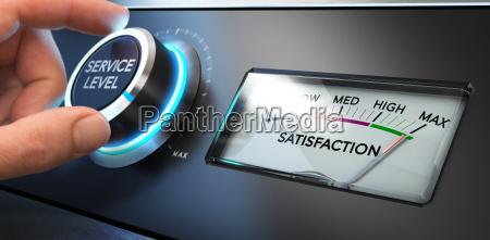 indice de satisfaccion de servicios