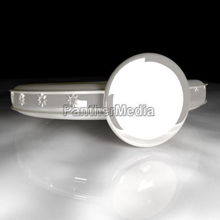 white ring 3d