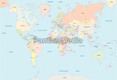 aleman lengua globo tierra mapa