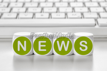 teclado cartas noticias corriente