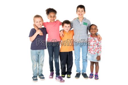 grupo, de, niños - 16346007