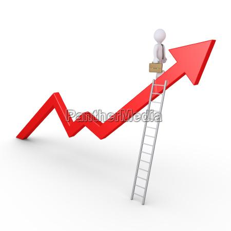 escalera hasta carrera estrategia con exito