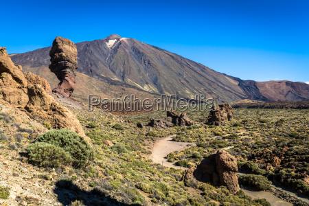 volcan pico del teide parque nacional