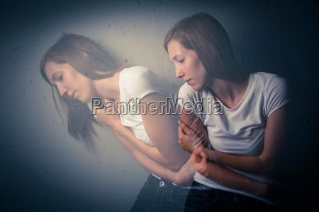 joven padecen una severa depresion