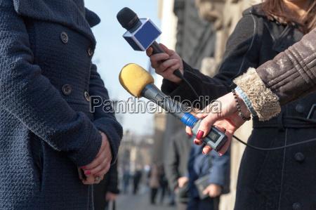 entrevista de prensa periodismo