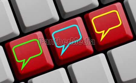 comunicacion en linea