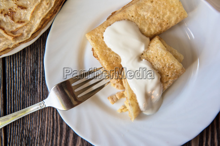 comida dulce marron ver pastel cocina