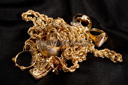 chatarra de joyeria de oro incluyendo