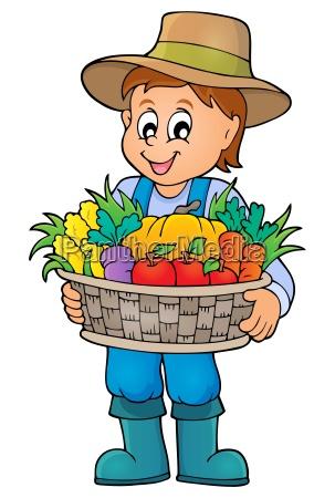 tema del agricultor imagen 4