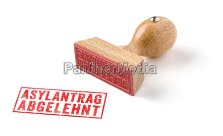 sello de madera solicitud de