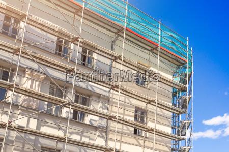 azul casa construccion historico industria industrial