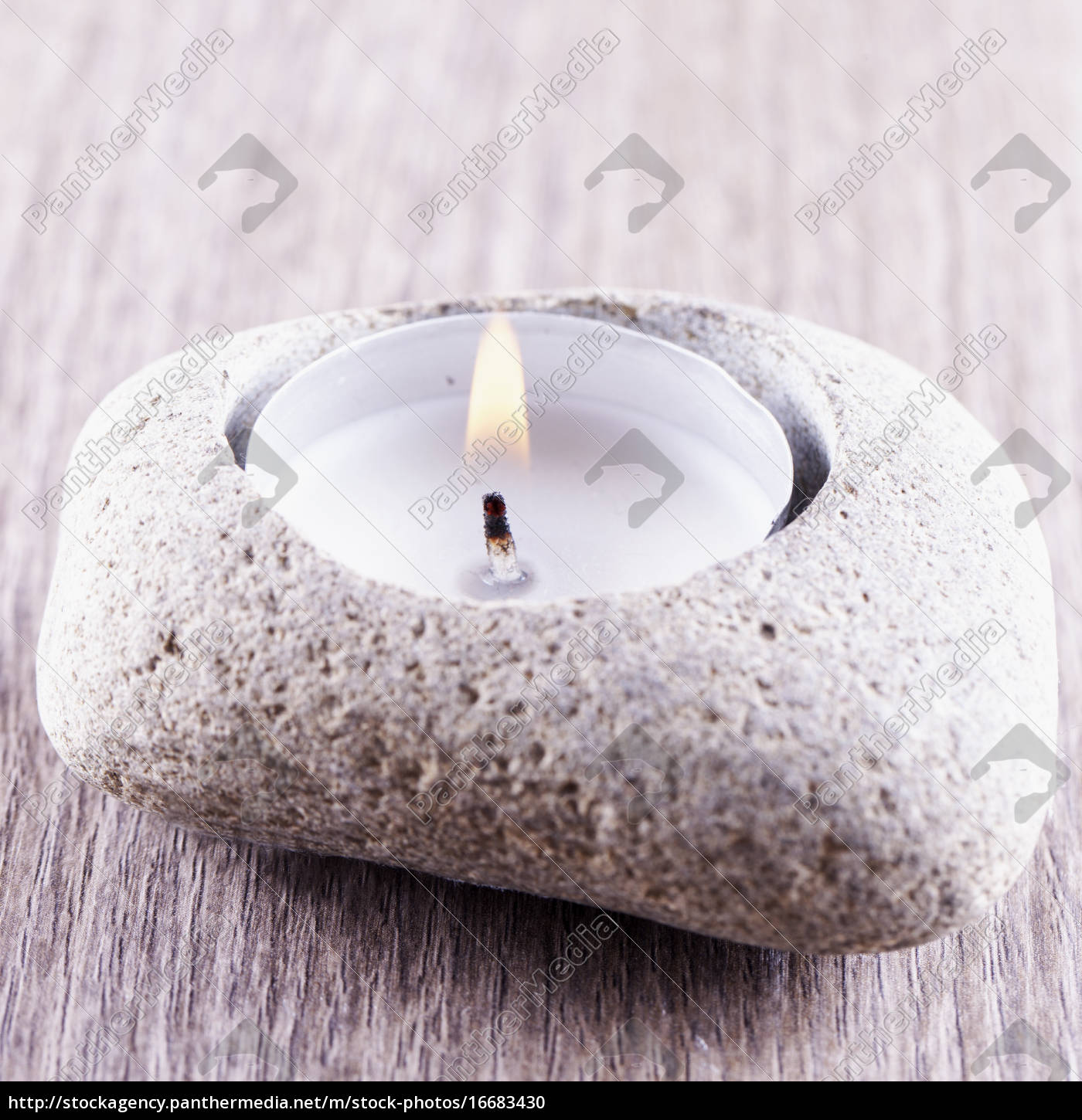 candle, in, stone - 16683430
