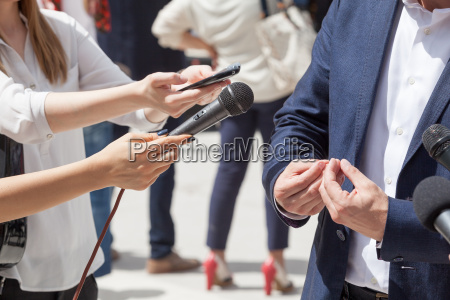 entrevista de prensa conferencia de prensa
