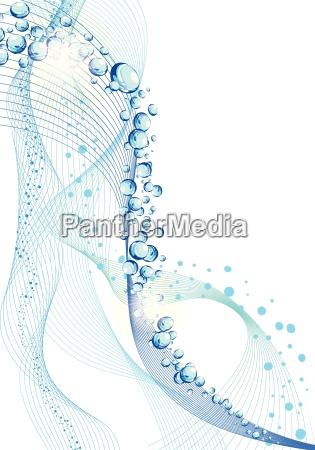 disenyo conceptual de lineas de agua