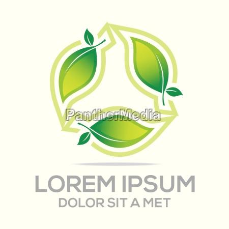 logotipo bio leaves