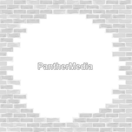 pared de ladrillos rotos