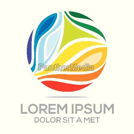 idea de logotipo la imaginacion global