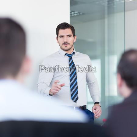 business team office meeting