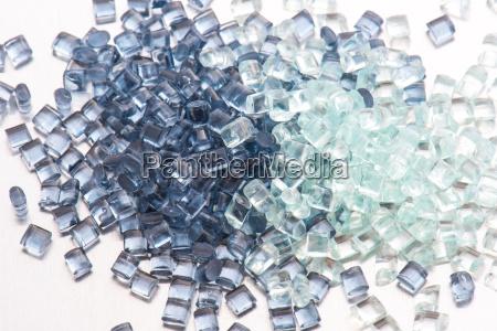 resina plastica transparente