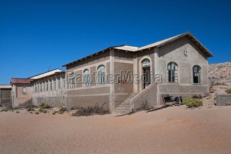 desaparecer casa construccion historico desierto marron