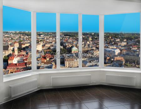 anyo de construccion ciudad ventana urbano