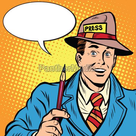 positivo retro periodistas entrevistas prensa informe