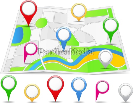 mapa prendedores