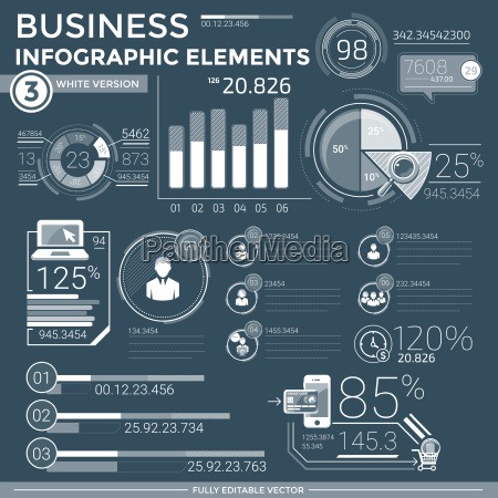 elementos de la infografia empresarial