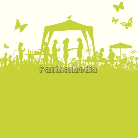 garden festival en el green