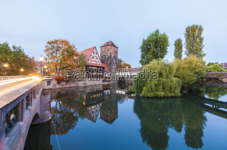germany bavaria nuremberg old town max