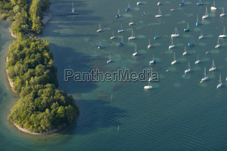 germany lake constance aerial view immenstaad