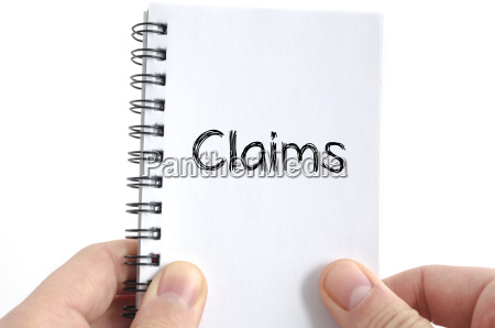 claims text concept