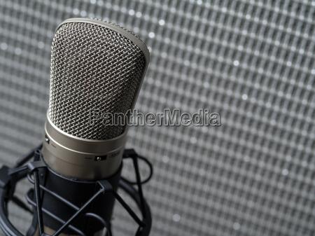 musica estudio profesional microfono grabacion detalles