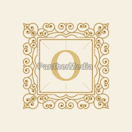 vector luxury elegant vector frame and