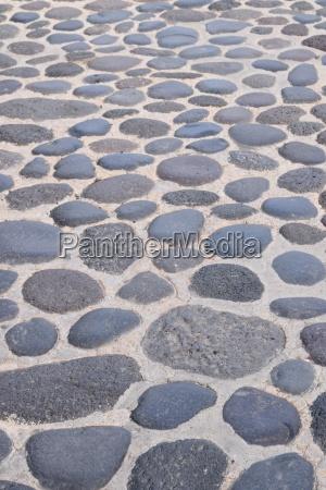 pavimento adoquines superficie de la carretera