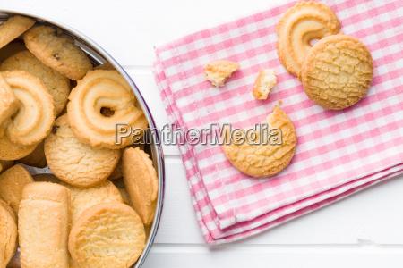 galletas de mantequilla dulce