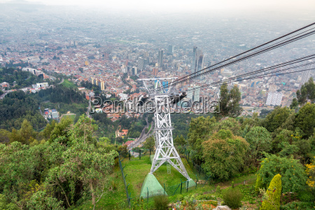 aerial tramway and bogota colombia