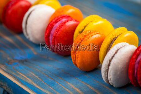 azul comida dulce colorido cosecha pastel