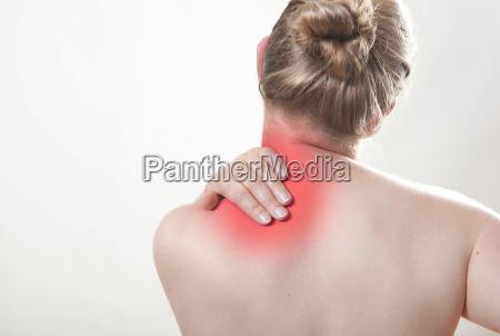 dolor de hombros rojo
