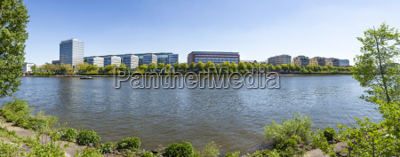 view to river main banks at