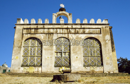 fasil fasil ghebbi castle located in